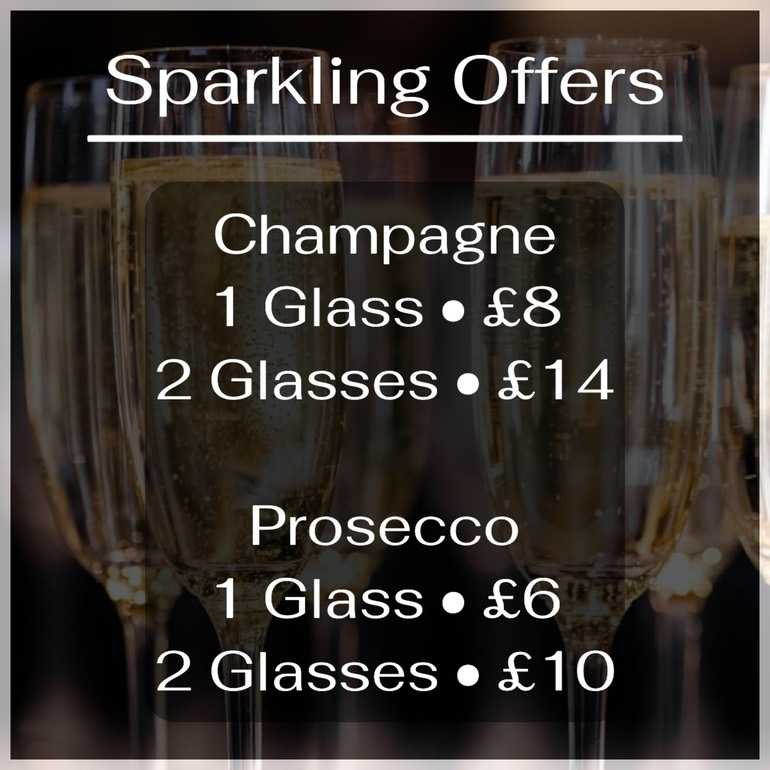 Sparkling Offers. Champagne. Prosecco